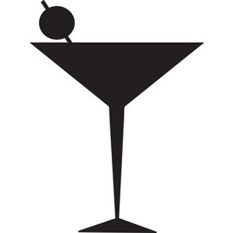 cocktail clipart black and white free glass clip art pictures clipartix