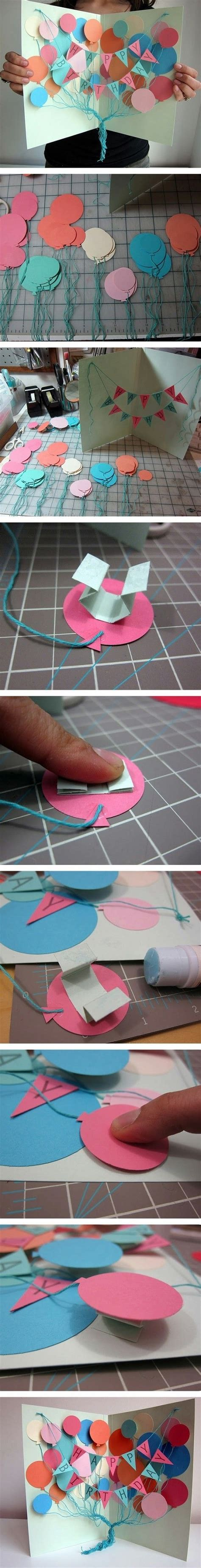 Handcrafted Birthday Card Ideas
