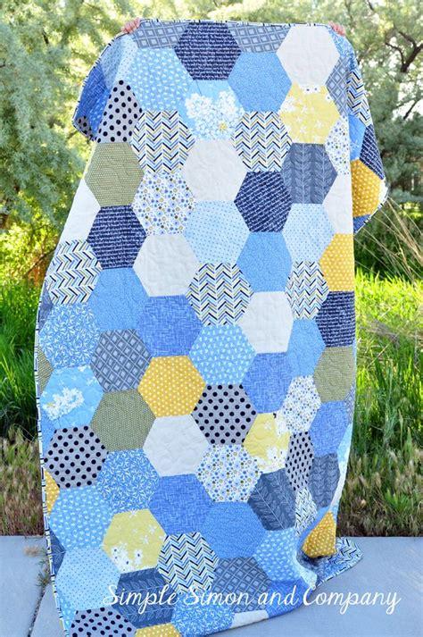 Hexagon Patchwork Quilt Patterns - best 25 hexagon quilt ideas on hexagon quilt