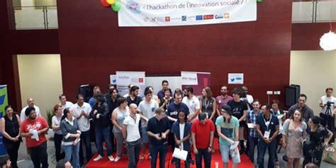 le 1er hackathon r 233 gional de l innovation sociale livre