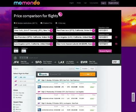City Search Momondo Launches Search Engine For Multi City Trip Travel Prlog