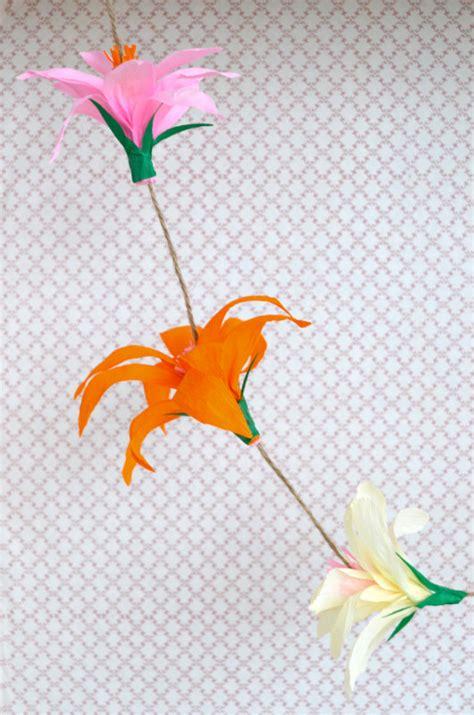 fiori in carta come fare i fiori di narciso di carta tutorial la figurina