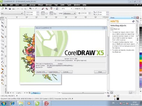 template kartu nama coreldraw x5 download coreldraw x5 full blbhome