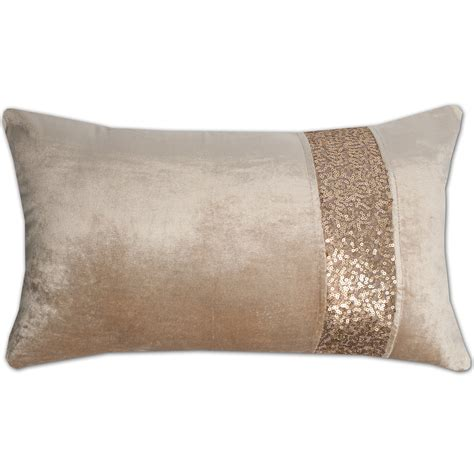 home decorative pillows sweet home collection luxury zippered sequin stripe