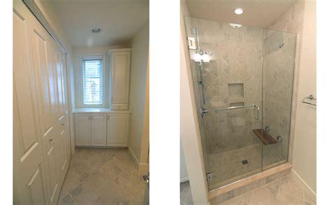 Custom Tile Bathrooms by Showcase Condo Renovation Lighthouse Contracting