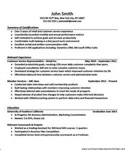 experienced resume sles professional resume templates for experienced free