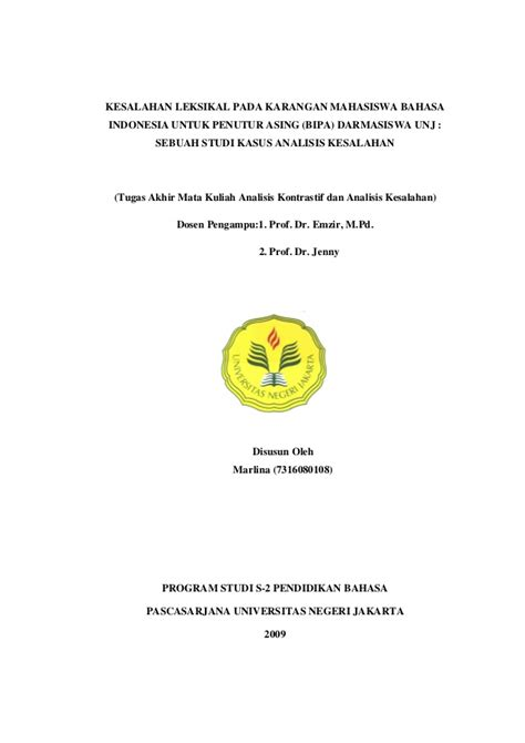 Tata Bahasa Praktis Bahasa Indonesia Edisi Revisi Abdul Chaer analisis kesalahan berbahasa