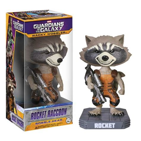 i am groot bobblehead guardians of the galaxy rocket raccoon bobble funko