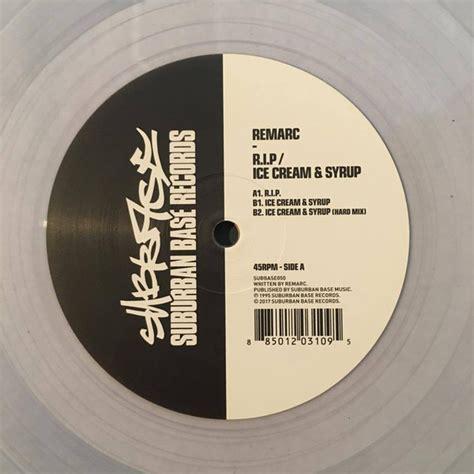 Records P R Remarc R I P Syrup Suburban Base Records Vinyl Record