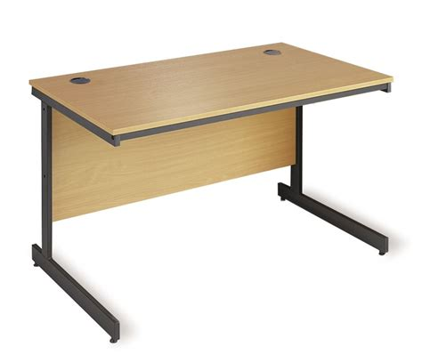 Office Desk Legs Maestro Office Desk With Cantilver Legs 754mm Oak