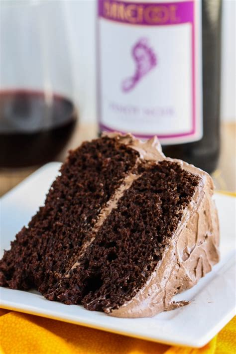 Lindsay Eats Chocolate And Runs In A by Chocolate Cake With Pinot Noir Frosting Eat Live Run