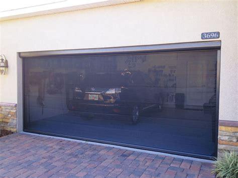 Garage Door Bug Screen Marygrove Sun Shades Garage Door Screen Insect Screens