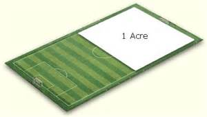 how many square feet in half an acre how many feet in an acre how many are there
