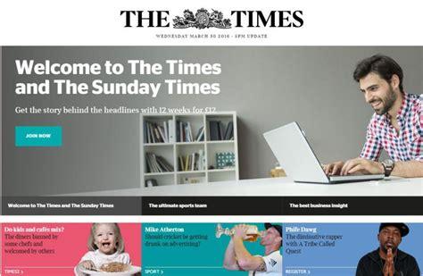 cadena ser pagina web la web de the times deja de publicar noticias en tiempo