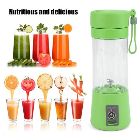 Fruit Juicer 380ml usb electric fruit juicer handheld smoothie maker