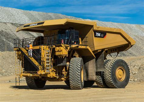 Ac Truk caterpillar cat caterpillar 794 ac mining truck in articulated rigid dump trucks