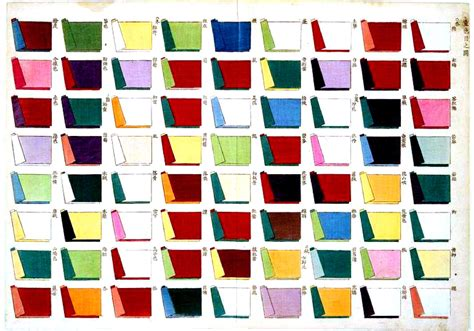 matching color schemes color multi textile a color combination chart for