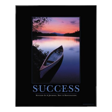 Inspiring Offices by Classic Motivational Posters Success Canoe Motivational