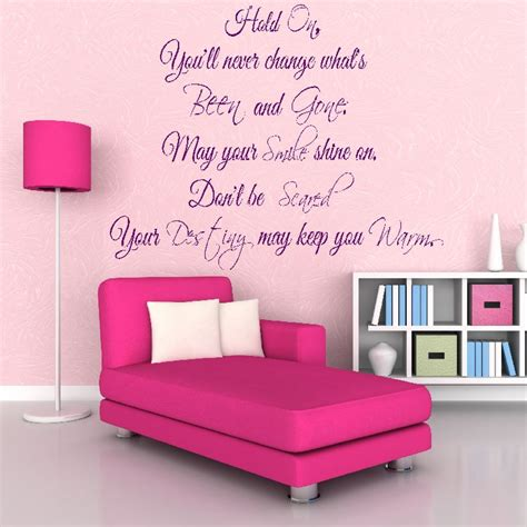 song lyric wall stickers oasis stop your out song lyrics wall sticker