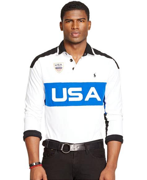 Polo Ralph Usa polo ralph custom fit usa graphic polo shirt