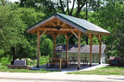 outdoor shelter plans diy picnic shelter plans small rustic pavilion shelter www sandcreekpostandbeam https
