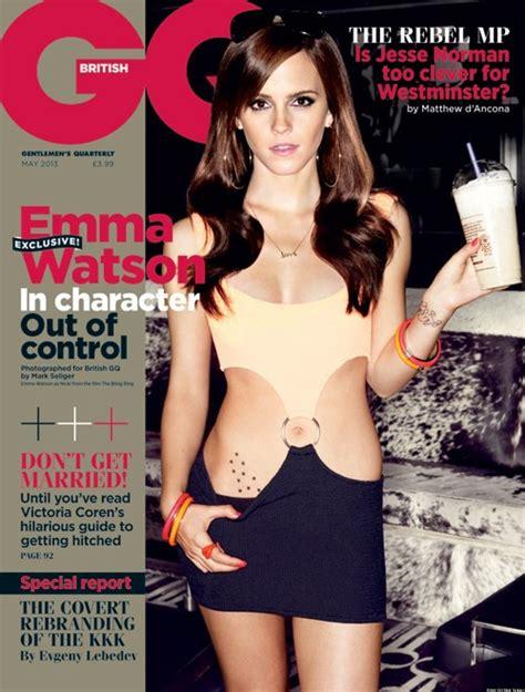 emma watson gq emma watson british gq cover is actress sexiest yet photo
