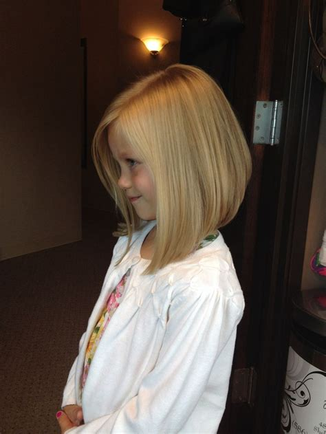 kids angled bob haircut little girls haircut angled bob hair by melissa lobaito
