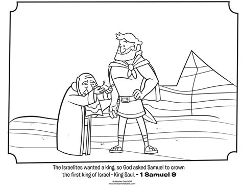 Saul And Samuel Bible Coloring Pages What S In The Bible King Saul Coloring Pages