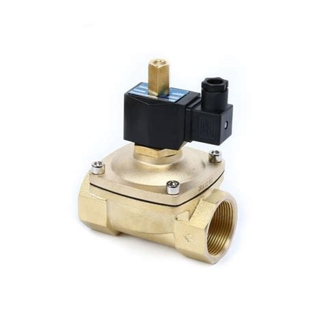 1 Normally Open Solenoid Valve - solenoid valve 2 way normally open 24v 220v for air