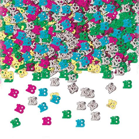Table Confetti by Age 18 Table Confetti Partyrama Co Uk