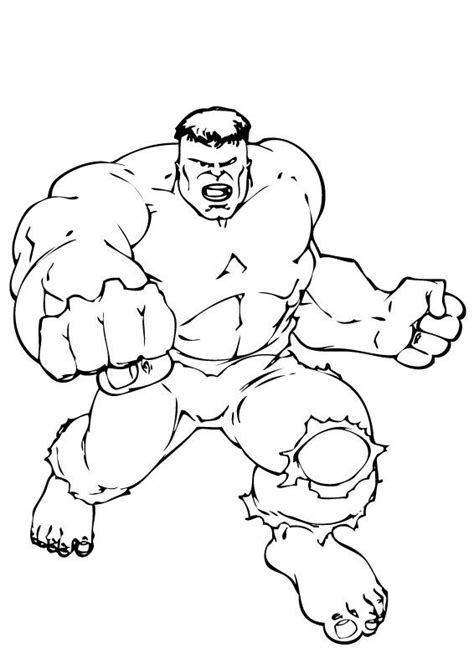 hulk hand coloring page hulk s punch coloring pages hellokids com