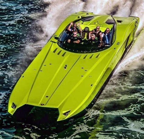 wordlessTech   Lamborghini MTI 52? Super Veloce Catamaran