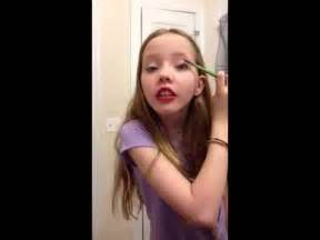 6th grade hair and makeup tutorial youtube