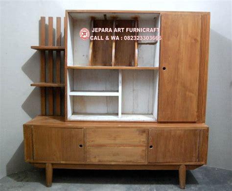 Lemari Vintage best seller lemari hias minimalis jati vintage bergaransi
