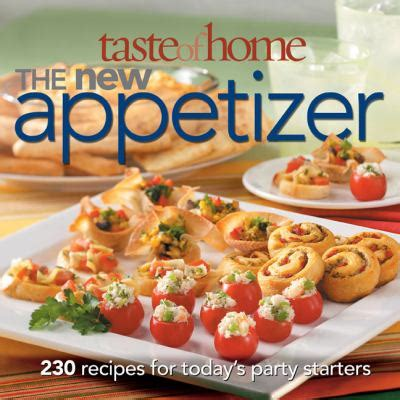 taste of home the new appetizer by catherine cassidy