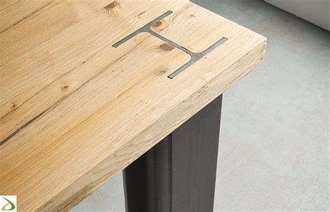basi per lade da tavolo tavolo con gambe in ferro putil arredo design
