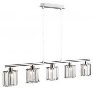 bar ceiling lights 6375 5cc 5 light chrome ceiling bar with coffin glass shades