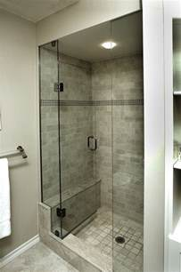 shower stalls with doors does the glass door on stall shower open in and not pull