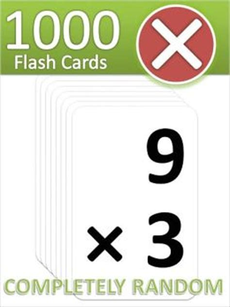 Buy Nook Books With Gift Card - 1000 multiplication flash cards by fatmath 2940013346192 nook book ebook