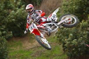 Honda Mx Honda Factory And Support Teams Gear Up For 2012 Sx Season