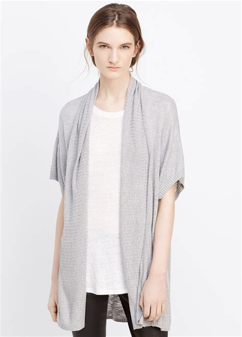 short sleeve drape front cardigan short sleeve open front draped cardigan cardigan with