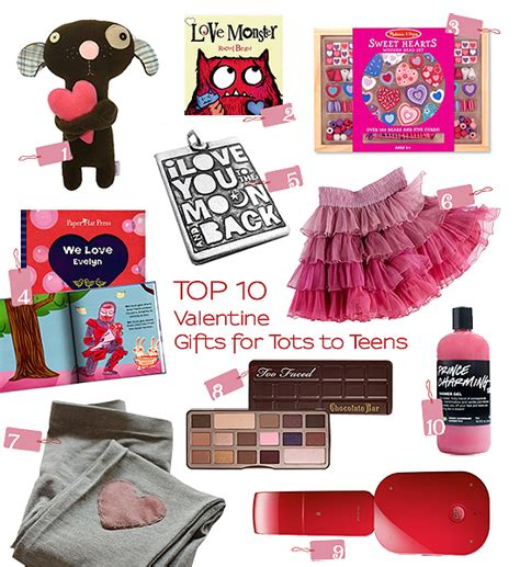 valentines gifts for teenagers top 10 thursdays gifts for tots to