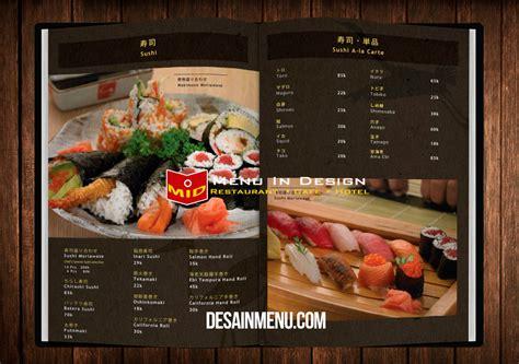 Buku Menu buku menu restoran