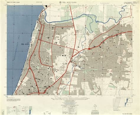 middle east map tel aviv israel maps perry casta 241 eda map collection ut library