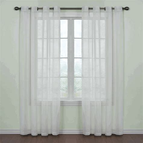 curtains galore curtain fresh sheer grommet curtains white view all