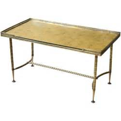 gold mirrored coffee table a brass and gold mirror top coffee table at 1stdibs