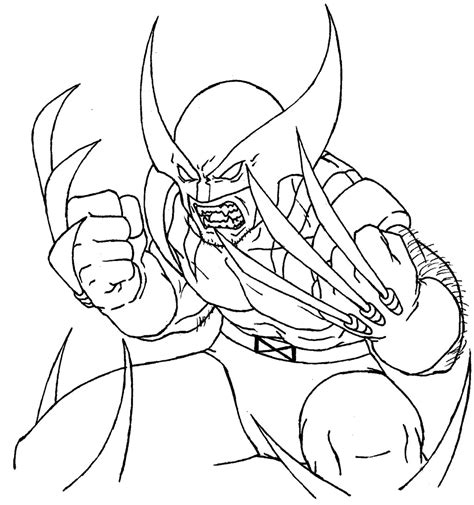 20 Best X Men Coloring Pages Free To Print Hero Series X Colouring Pages