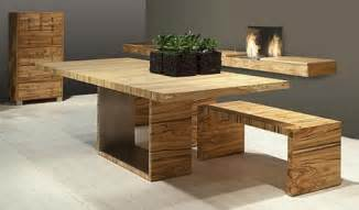 wood dining room tables at the galleria