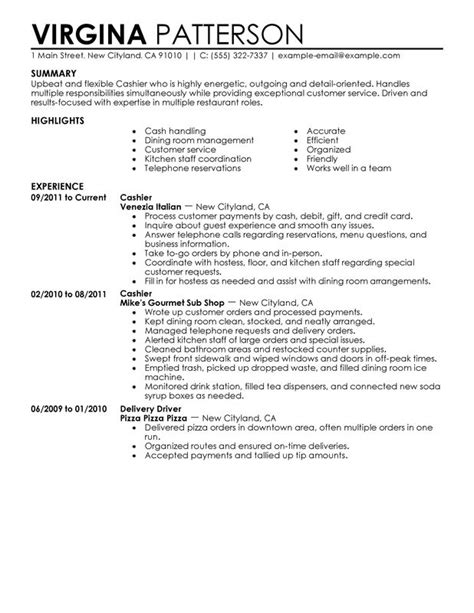 Sle Resume For Cashier In Gas Station Gas Station Cashier Resume Best Resume Gallery