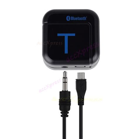 Universal Stereo Audio Bluetooth Transmitter universal 3 5mm bluetooth audio transmitter black jakartanotebook